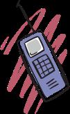 Картинки по запросу сотовый телефон рисунок