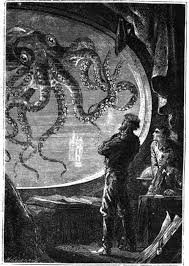 «Двадцать тысяч лье под водой» [1, с. 44]