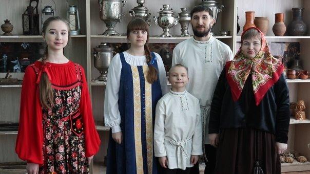 Воссоздание коллекции русского костюма Симбирской губернии