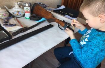 Подготовка ружья к охоте
