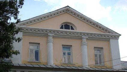 Мезонин. Фрагмент северного фасада дома прапорщицы Петровой (с 1902 г. купцов Беззубиковых)
