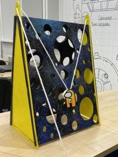 Разработанная эко-игрушка «Космическое приключение»